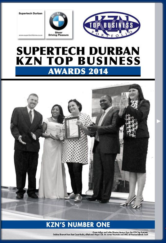 KZN Top Business Awards  Supplement 2014