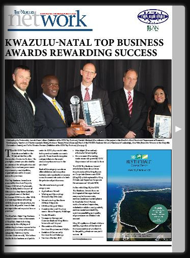 KZN Top Business Award Supplement 2015